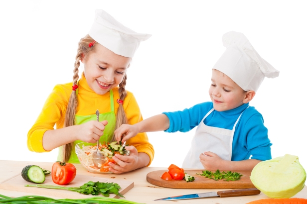 children-cooking